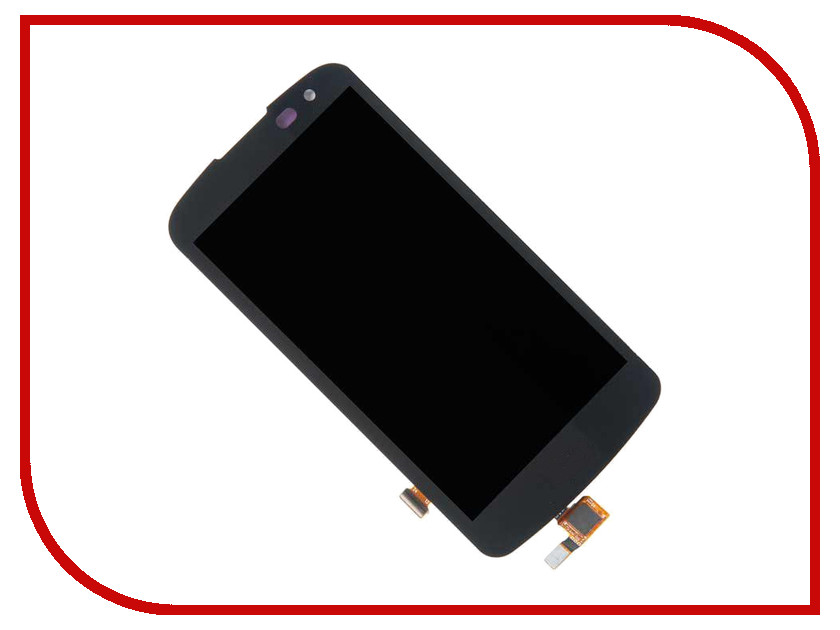Дисплей Zip для LG K3 K100DS Black 540450 смартфон lg k3 lte black blue k100ds