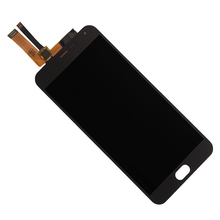 Дисплей RocknParts Zip для Meizu M2 Note Black 441109