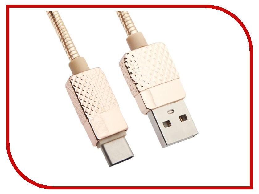 Аксессуар Liberty Project USB -  Type- Гламурный Ананас 1m Gold 0L-00036305