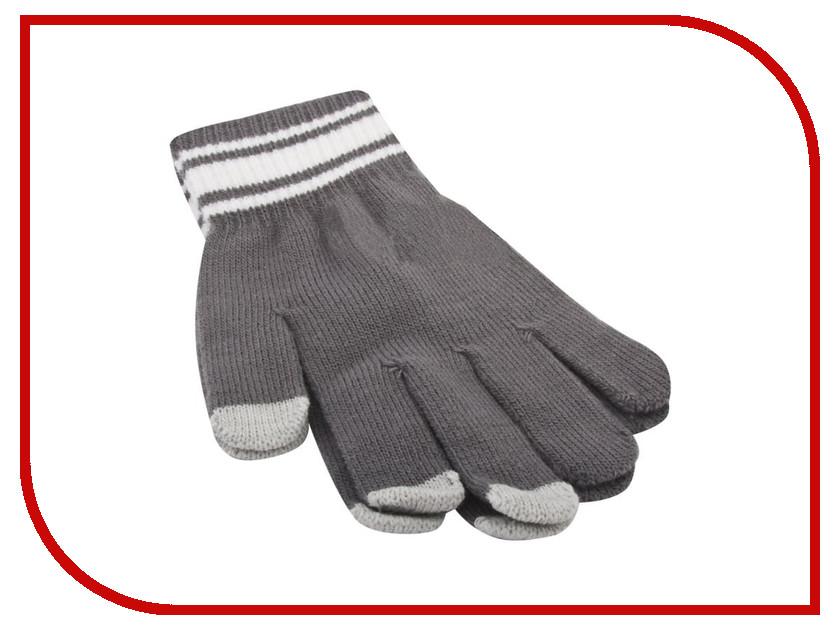 Теплые перчатки для сенсорных дисплеев Liberty Project M Grey 0L-00034664 перчатки для сенсорных дисплеев liberty олени серые размер s