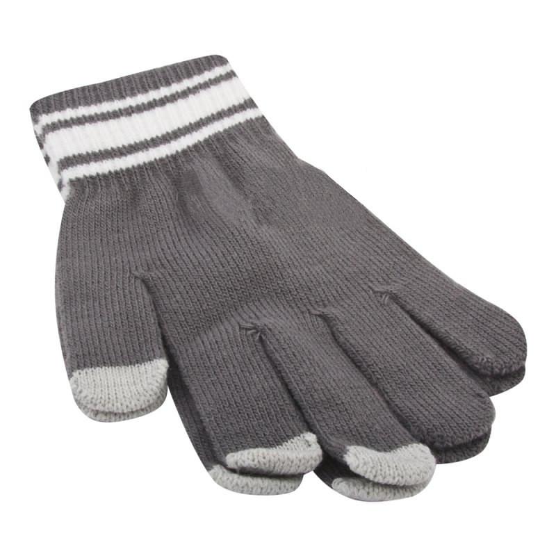 Теплые перчатки для сенсорных дисплеев Liberty Project M Grey 0L-00034664