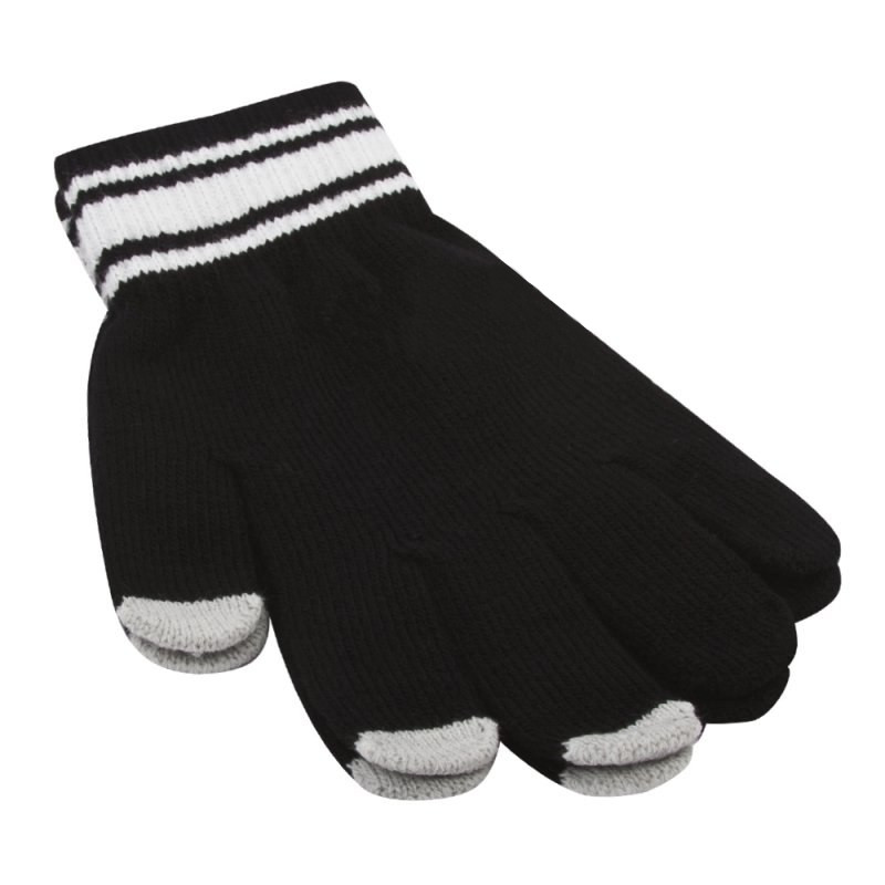 Теплые перчатки для сенсорных дисплеев Liberty Project M Black 0L-00034660