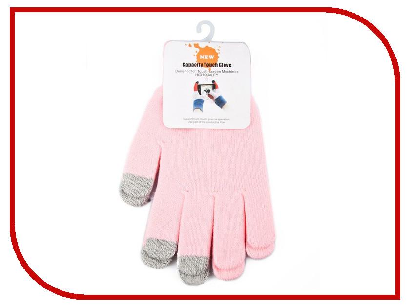 Теплые перчатки для сенсорных дисплеев Liberty Project M Light Pink R0001012 теплые перчатки для сенсорных дисплеев dresscote talkers size m grey