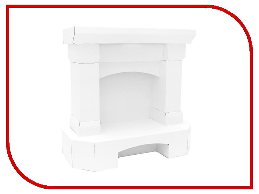 Игрушка Картонный папа Камин White CD-FIREPLACE-W игровые наборы папа карло игрушка деревянная стучалка папа карло