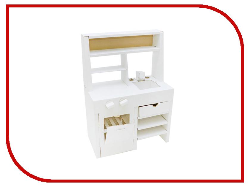 Игрушка Картонный папа Кухня White CD-KITCHEN-W игровые наборы папа карло игрушка деревянная стучалка папа карло