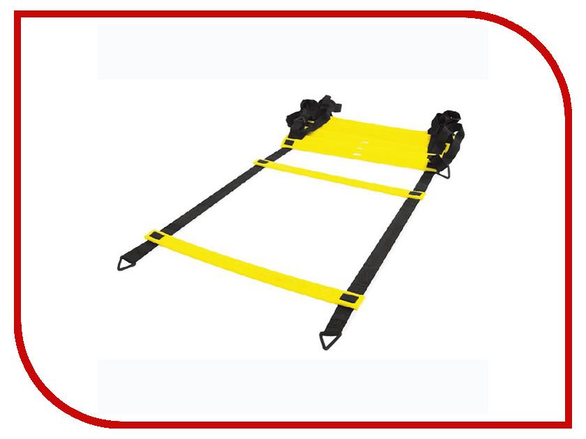 Тренажер Indigo Лестница координационная для кроссфита L-4.5m W-0.5m 12 ступеней 97754 IR