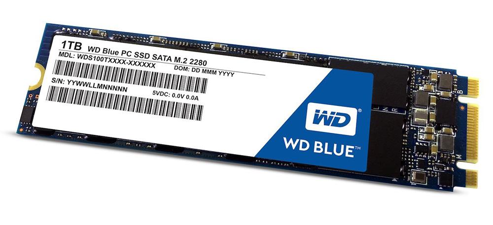 Твердотельный накопитель Western Digital WD 1Tb Blue WDS100T2B0B