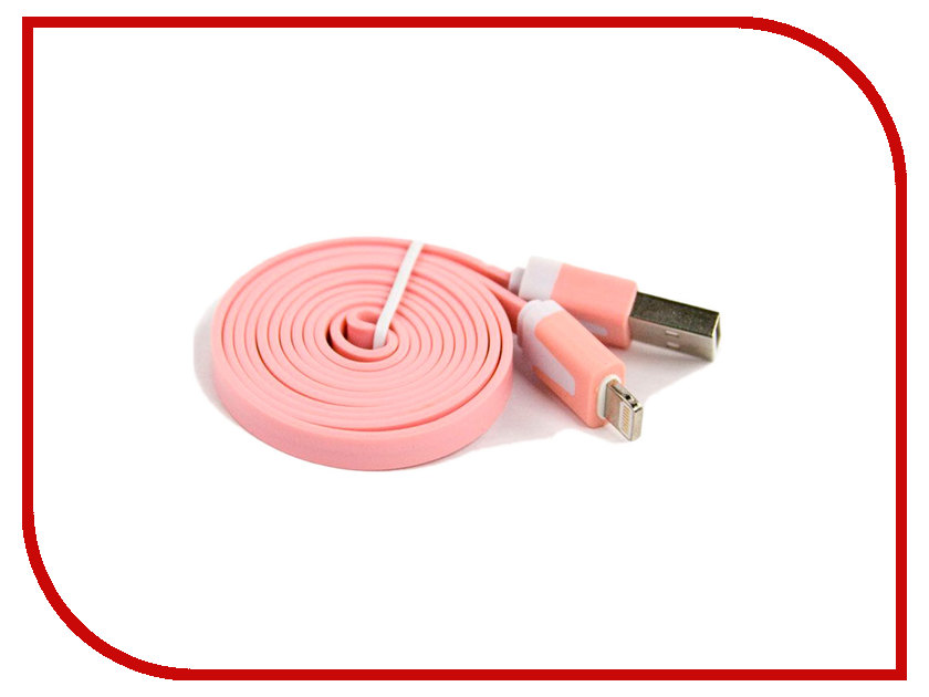 Аксессуар Liberty Project USB - Lightning для iPhone/iPad 8 pin 1m Pink SM000108