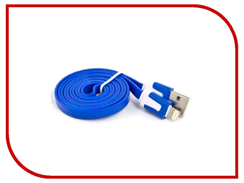 Аксессуар Liberty Project USB - Lightning для iPhone/iPad 8 pin 1m Blue SM000110 liberty project usb apple lightning sm000110 blue