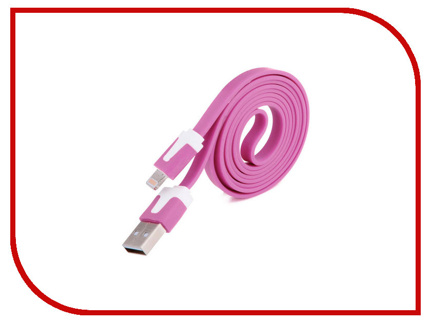Аксессуар Liberty Project USB - Lightning для iPhone/iPad 8 pin 1m Lilac SM000109