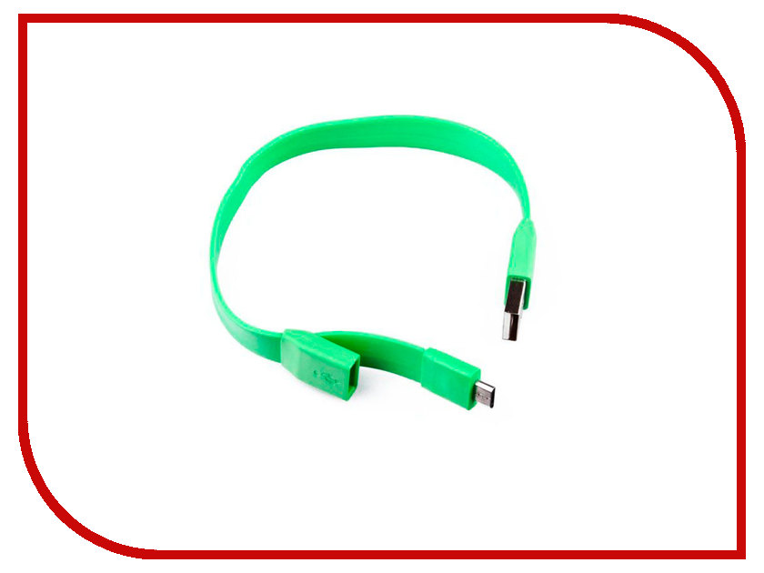 Аксессуар Liberty Project USB - Micro USB 0.25m Green SM001784 liberty project android a55 green картридер