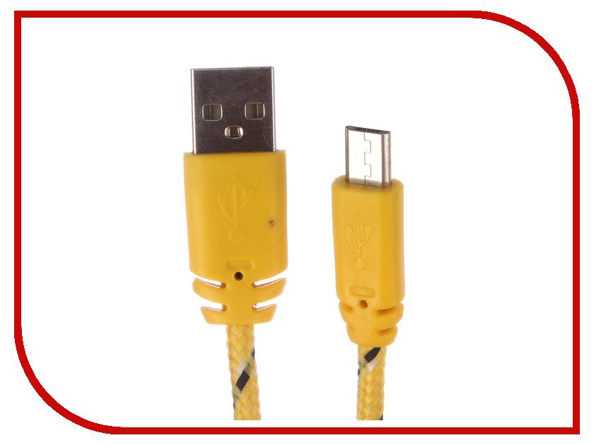 Аксессуар Liberty Project USB - Micro USB 1m Yellow-Green 0L-00000948 аксессуар liberty project usb usb type c гламурный ананас 1m gold 0l 00036305