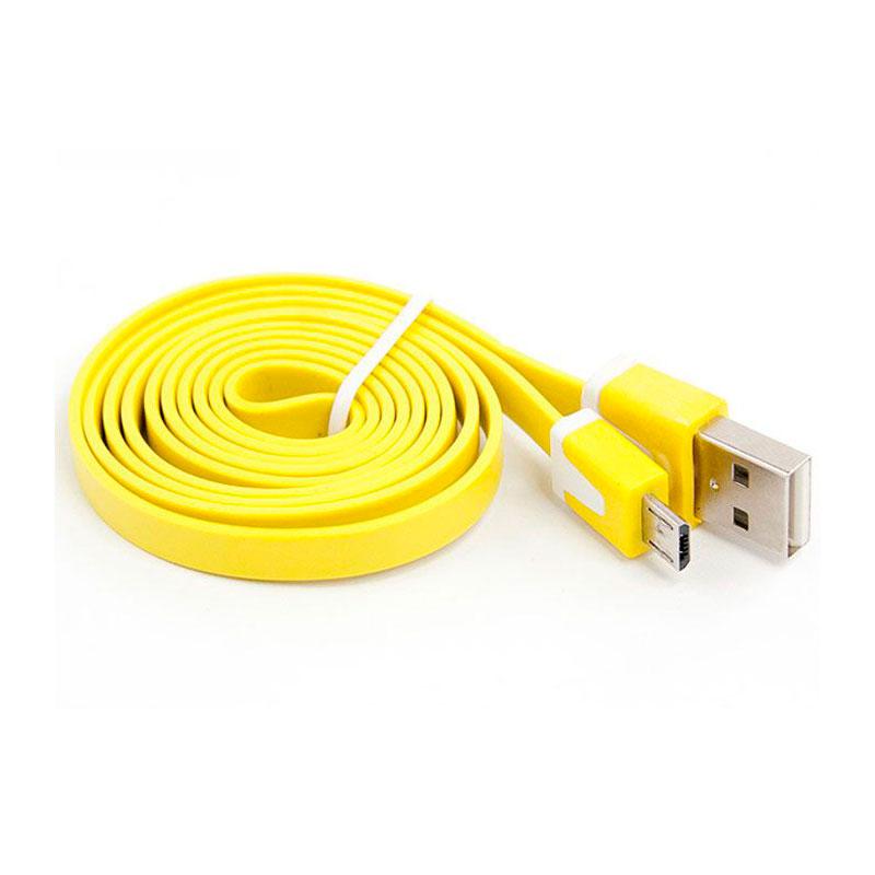 цена на Аксессуар Liberty Project USB - Micro USB 1m Yellow SM000117