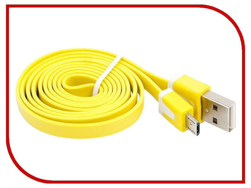 Аксессуар Liberty Project USB - Micro USB 1m Yellow R0003923 micro usb male to usb 2 0 male charging data cable for samsung htc lg more yellow 1m