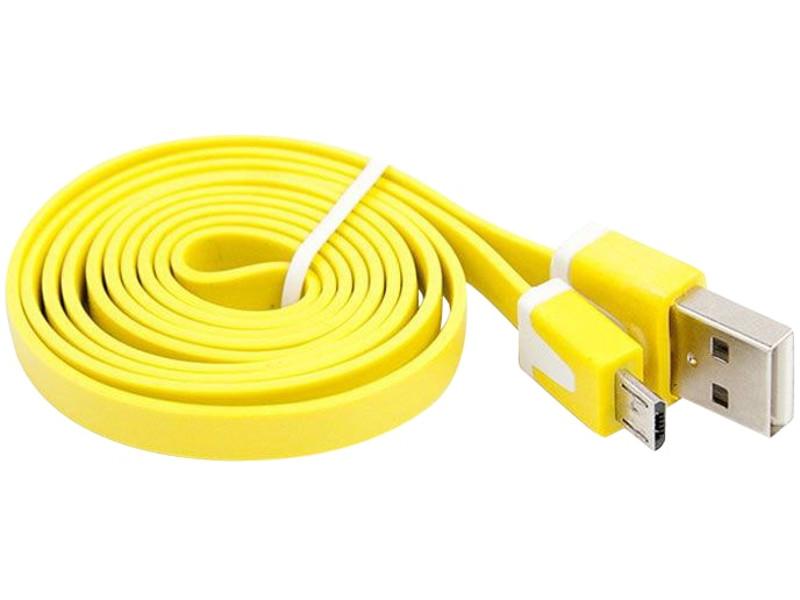 Фото - Аксессуар Liberty Project USB - Micro USB 1m Yellow R0003923 карт ридер liberty project usb micro usb otg micro sd usb pink r0007634