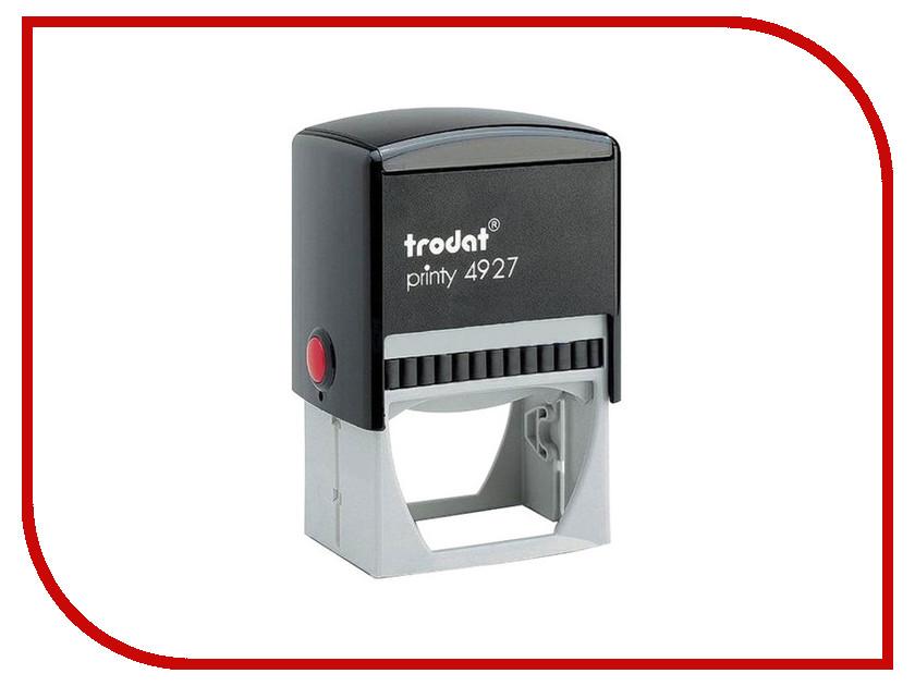 Оснастка для штампа Trodat 4927 60x40mm Blue 53117 colop оснастка для штампа цвет черный 23 х 59 мм