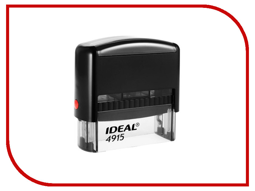 Оснастка для штампа Trodat Ideal 4915 P2 70x25mm Blue 125429 colop оснастка для штампа цвет черный 23 х 59 мм