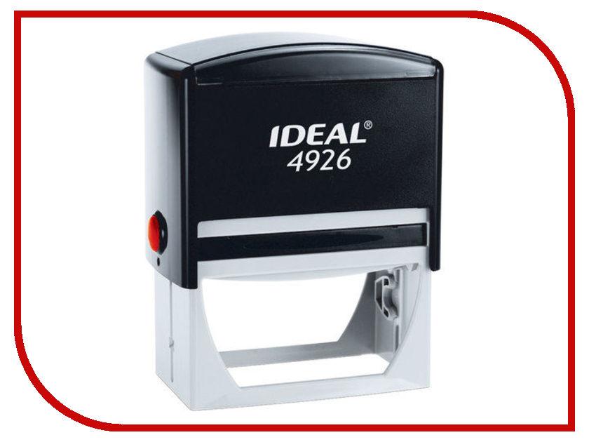 Оснастка для штампа Trodat Ideal 4926 P2 75x38mm Blue 125432 colop оснастка для штампа цвет черный 23 х 59 мм