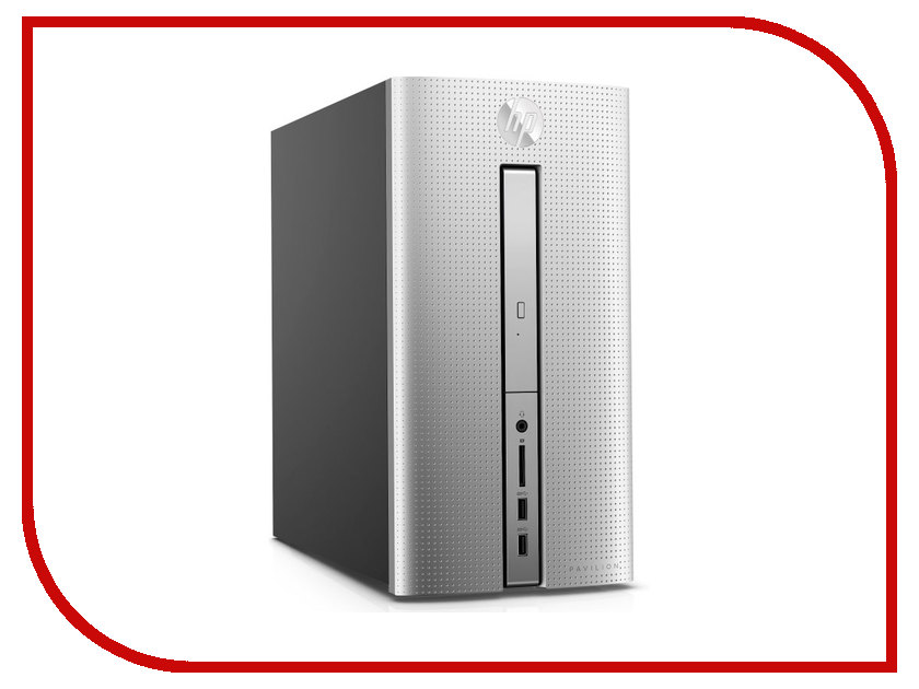 Настольный компьютер HP Pavilion 570-p004ur MT Silver/Black 1ZP78EA (Intel Core i5-7400 3.0 GHz/4096Mb/256Gb SSD/DVD-RW/Intel HD Graphics/Wi-Fi/Bluetooth/Windows 10 Home 64-bit) настольный компьютер hp pavilion 570 p006ur 1zp82ea intel core i3 7100 3 9 ghz 4096mb 1000gb dvd rw intel hd graphics wi fi bluetooth windows 10 64 bit