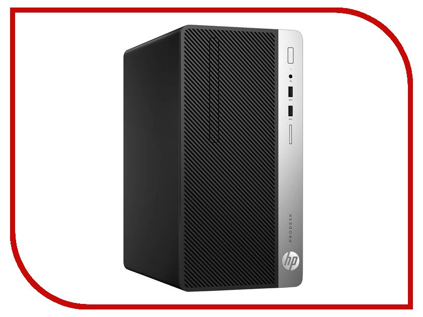 Настольный компьютер HP ProDesk 400 G4 MT Black 1QP48ES (Intel Core i3-7100 3.9 GHz/4096Mb/1000Gb/DVD-RW/Intel HD Graphics/DOS) настольный компьютер hp prodesk 400 g4 small form factor 1ey30ea intel core i3 7100 3 9 ghz 4096mb 500gb dvd rw intel hd graphics 630 gbiteth windows 10 professional 64 bit