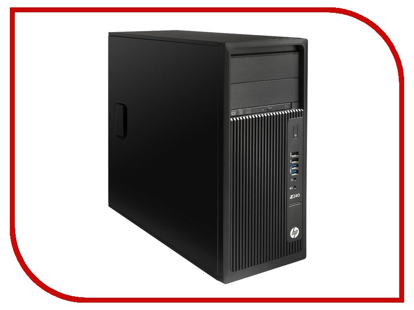 Настольный компьютер HP Z240 Black Y3Y83EA (Intel Core i7-7700K 4.2 GHz/16384Mb/256Gb SSD/DVD-RW/Intel HD Graphics/Windows 10 Pro 64-bit) настольный компьютер hp 290 g1 microtower 1qn70ea intel core i3 7100 3 9 ghz 4096mb 500gb dvd rw intel hd graphics windows 10 pro 64 bit