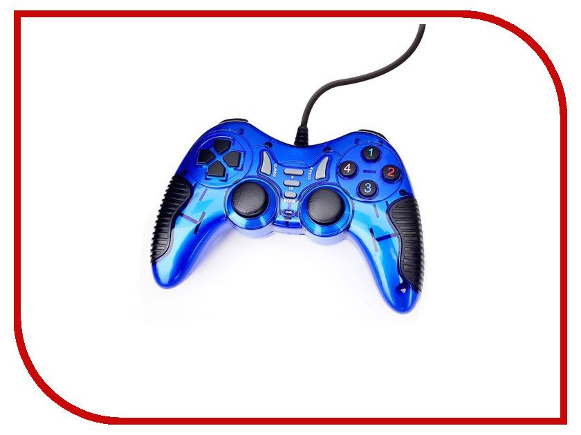 Геймпад 3Cott Single GP-06 Blue геймпад 3cott single gp 05 white