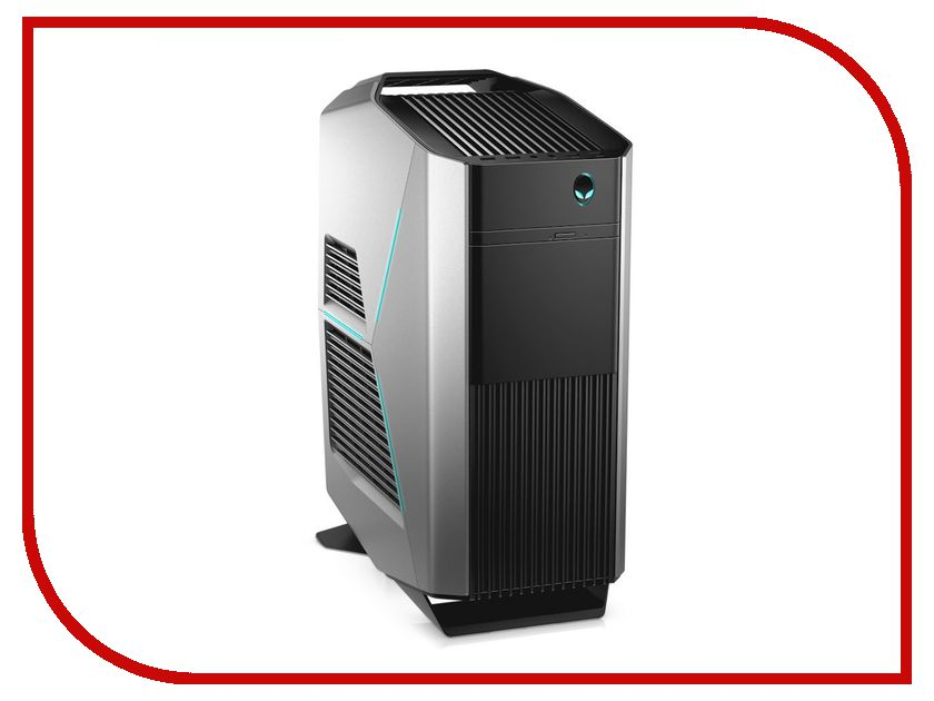 Настольный компьютер Dell Alienware Aurora R7 Silver R7-9973 (Intel Core i7-8700 3.2 GHz/16384Mb/2000Gb+256Gb SSD/DVD-RW/2xAMD Radeon RX 580 8192Mb/Wi-Fi/Bluetooth/Windows 10 Home 64-bit) ноутбук lenovo 320 17ikb