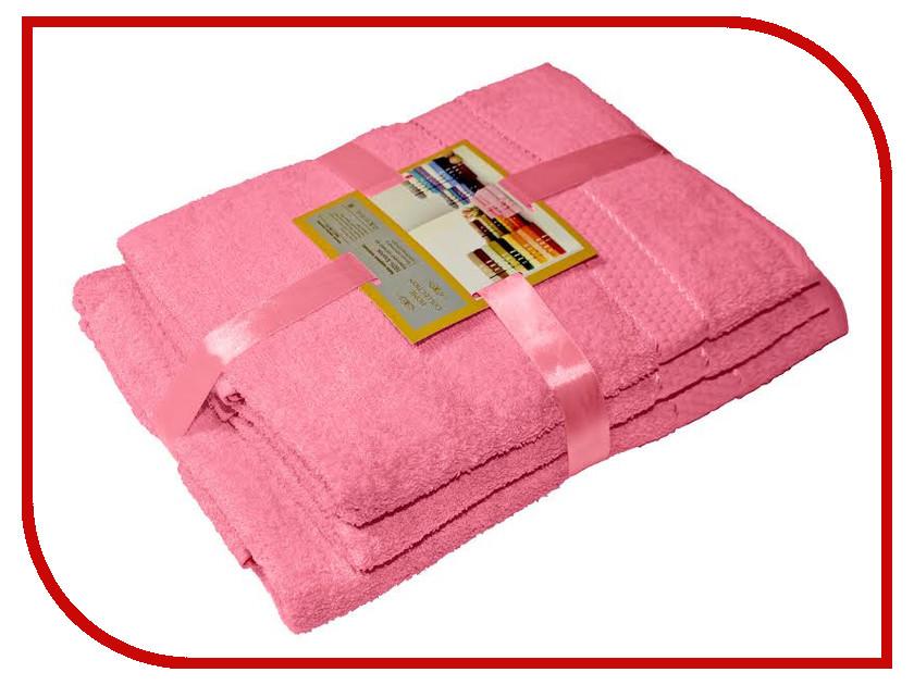 Полотенце Aisha Home 50x90/70x140 3шт Pink УНП-1320