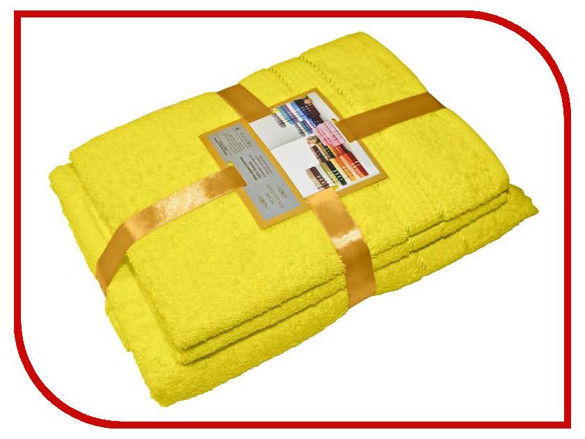 Полотенце Aisha Home 50x90/70x140cm 3шт Yellow УНП-1317 полотенце aisha home 50x85 70x135 2шт pink pearl нмп 026к