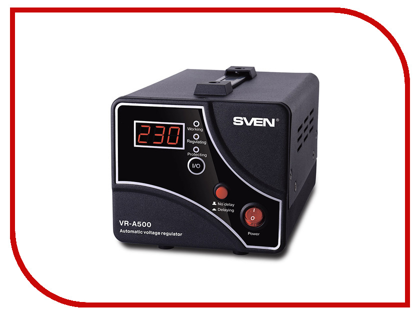 Стабилизатор Sven VR-A500 SV-014933 стабилизатор sven vr a5000 sv 014896