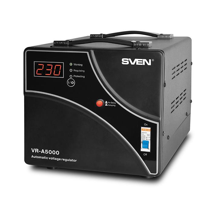 цена на Стабилизатор Sven VR-A5000 SV-014896