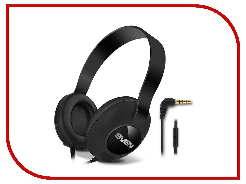 наушники, наушники с микрофоном и гарнитуры AP-310M  Sven AP-310M Black SV-015312