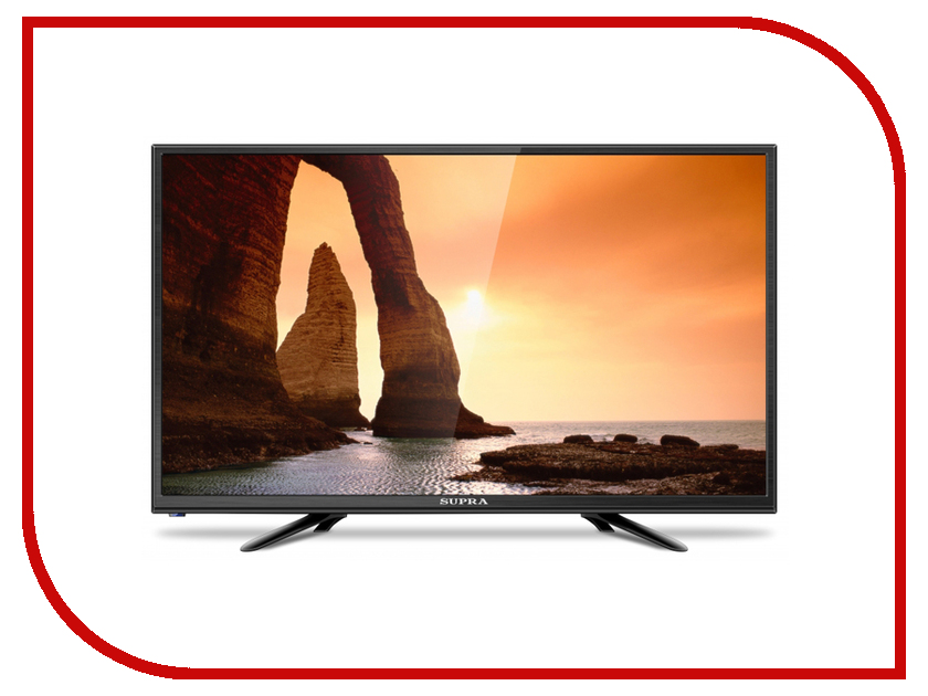 Телевизор SUPRA STV-LC24LT0010W телевизор supra stv lc32lt0011w