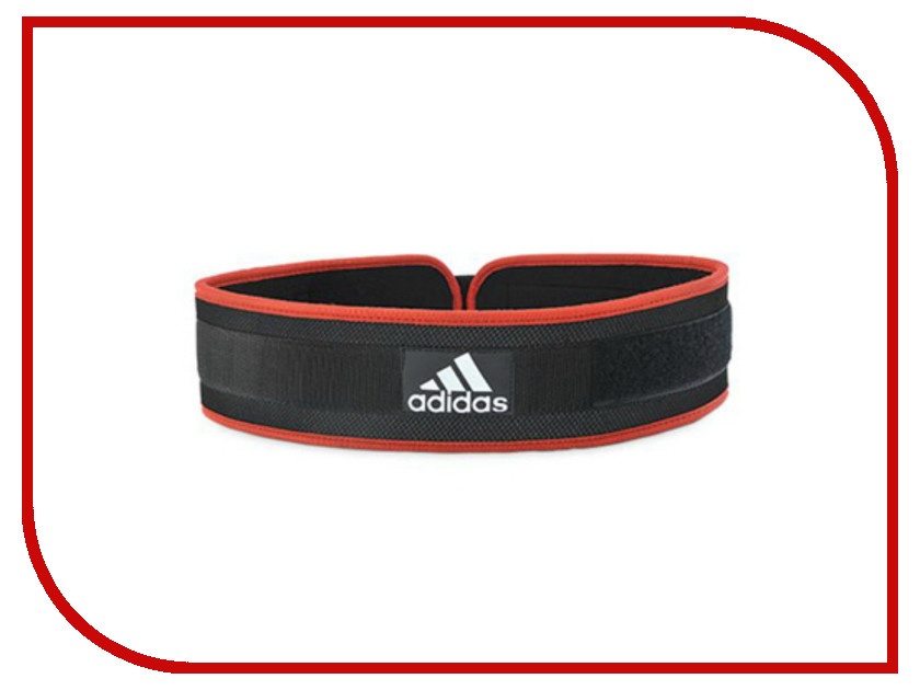 Пояс тяжелоатлетический Adidas Nylon Lumbar Belt XL ADGB-12239 nylon running belt bungee leash pet dog traction rope