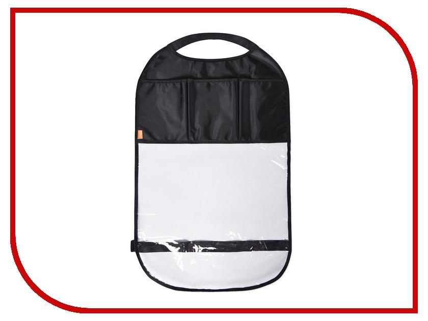 Защитная накидка на спинку автомобильного сиденья с карманами Витоша 879 накидка защитная на спинку переднего сидения dollex город с карманом 61 х 46 см