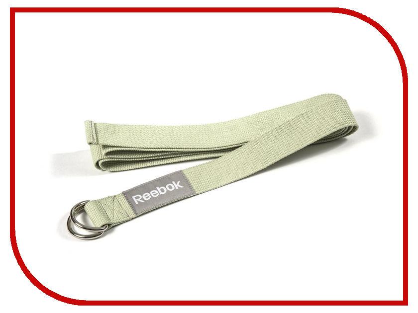Ремень для йоги Reebok RAYG-10023GN Green кирпич для йоги с прорезями reebok rayg 10035gn