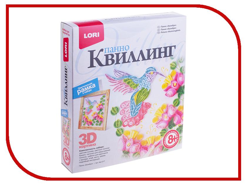 Набор Lori 3D Квиллинг-панно Колибри Квл-017 / 221389