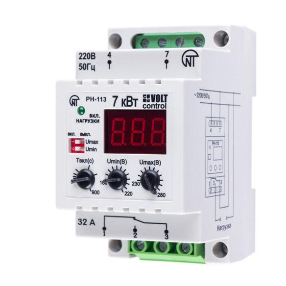 Реле контроля напряжения Новатек-Электро PH-113