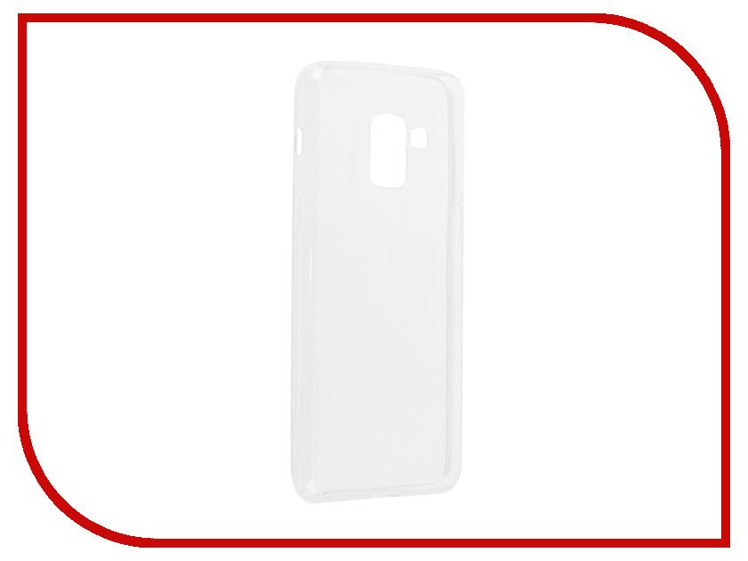 Аксессуар Чехол Samsung Galaxy A8 (2018) DF sCase-55 аксессуар чехол samsung galaxy a7 2016 df scase 24 silver