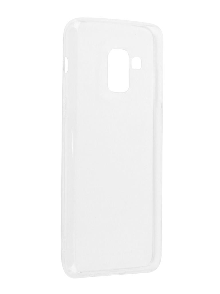 Аксессуар Чехол DF для Samsung Galaxy A8 2018 sCase-55 аксессуар чехол накладка samsung galaxy j3 2016 df scase 10