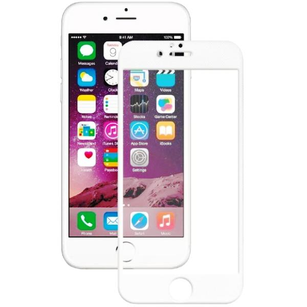 Аксессуар Защитное стекло Onext для APPLE iPhone 7 / 8 с рамкой White 41584 защитное стекло onext для huawei p10 lite 641 41432 с рамкой белый