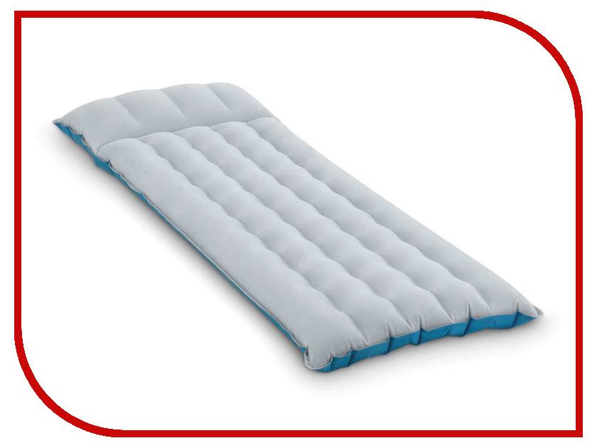 Надувной матрас Intex Camping Mat 184x67x17cm 67997 self inflating camping mattress automatic inflatable sleeping pad airbed outdoor beach hiking camping mat with air cushion