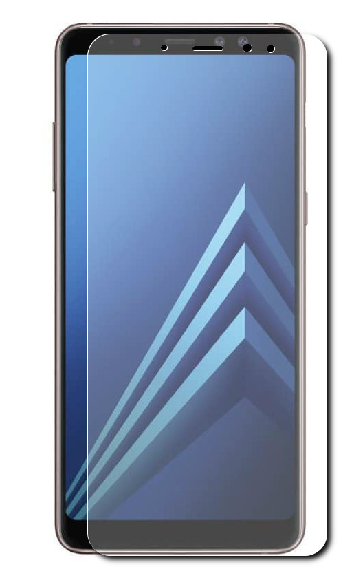 Аксессуар Защитное стекло Onext для Samsung Galaxy A8 Plus 2018 41575 защитное стекло onext для nokia 7 plus 2018 641 41768
