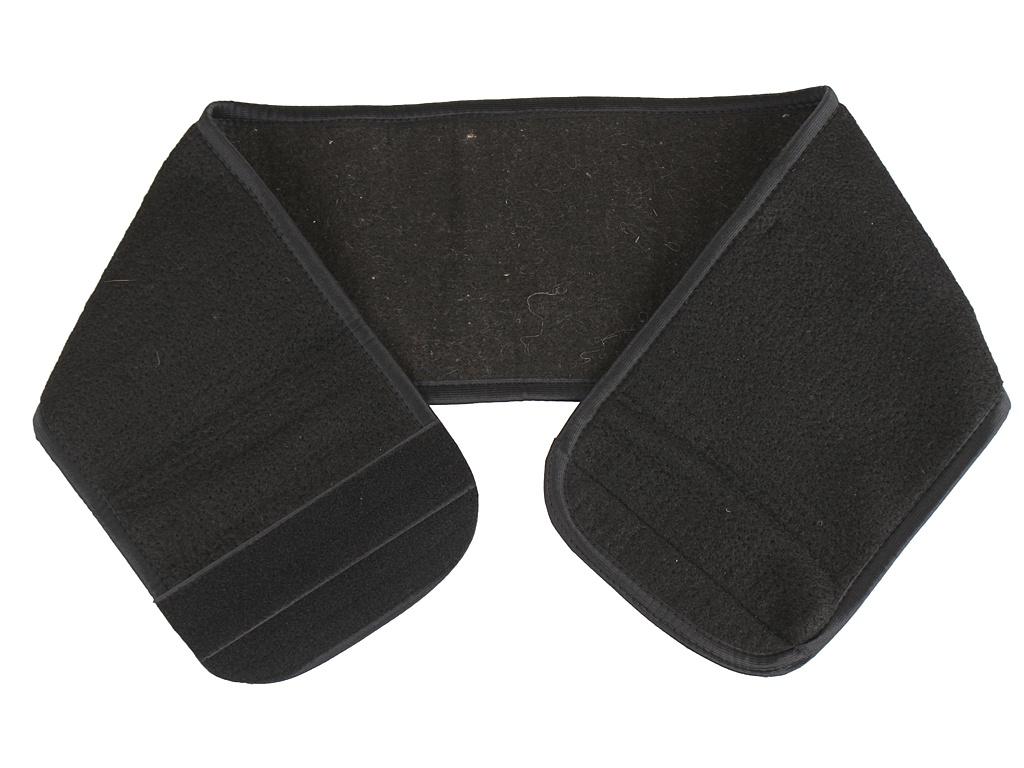 Пояс Azovmed собачья шерсть круглый р.58-60 Black
