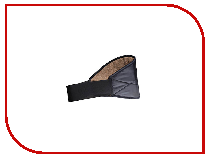 Ортопедическое изделие Azovmed - пояс, верблюжья шерсть круглый р.58-60 Black ортопедическое изделие azovmed пояс собачья шерсть р 52 54 56