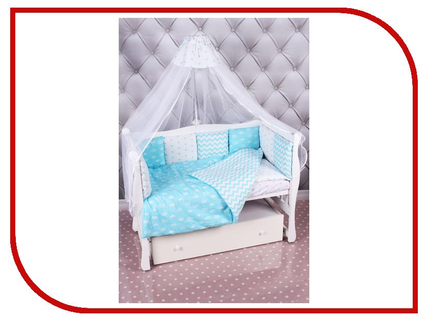 Комплект AmaroBaby Royal Baby Бязь Turquoise elwis royal 9822484 elwis royal комплект прокладок головка цилиндра