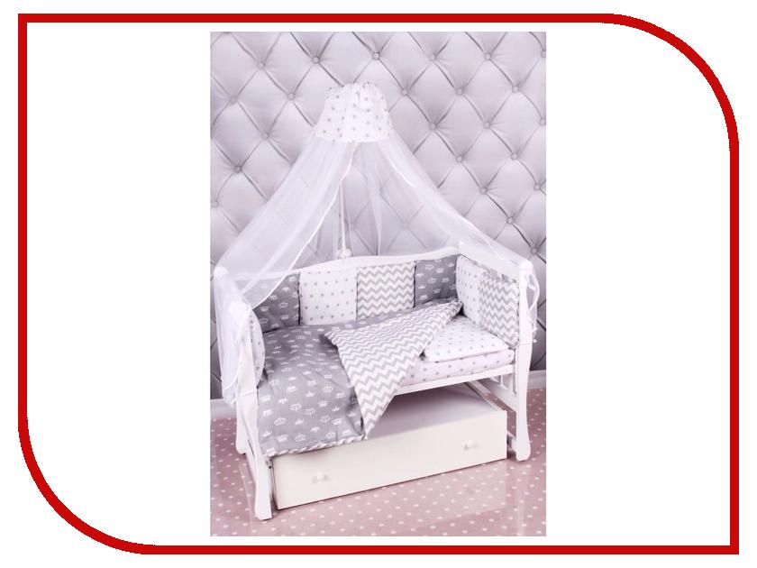 Комплект AmaroBaby Royal Baby Бязь Gray