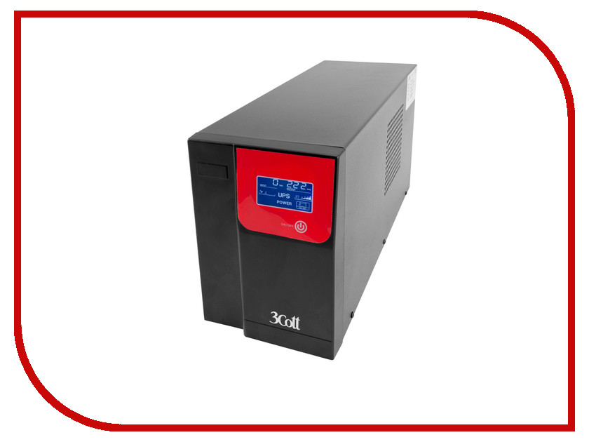 Источник бесперебойного питания 3Cott ProPower 3000VA 1800W 3C-3000-MCSE источник бесперебойного питания crown cmu sp800iec black