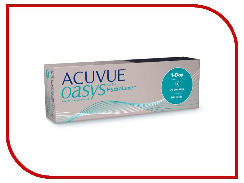 Контактные линзы Johnson & Johnson 1-Day Acuvue Oasys with HydraLuxe (30 линз / 8.5 / -8) контактные линзы johnsonjohnson acuvue oasys 12 шт r 8 8 d 06 50
