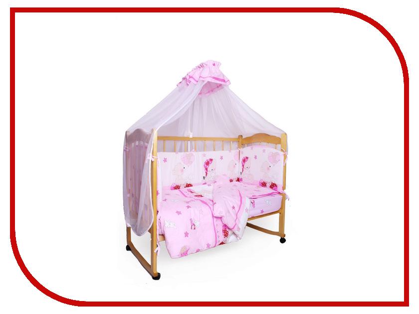 Комплект AmaroBaby Мишкин сон Поплин Pink дядюшкин сон
